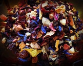 Tropic Sunshine...Premium Pineapple and Grenadine Herbal Tea Tisane Papaya Orange Apple Hibiscus Rose Hip Rose Sunflower Tropical Fruit Tea