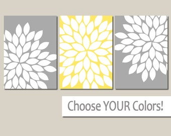 yellow gray wall art canvas or prints yellow gray bedroom pictures gray bathroom artwork