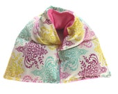 microwave heat therapy rice bag, heating pad, cold pack, neck wrap, aromatherapy, doula, pregnancy gift