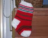 Christmas ornament mini stocking