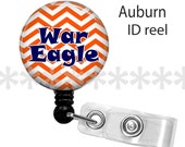 ID reel with MYLAR covering...Auburn War Eagle