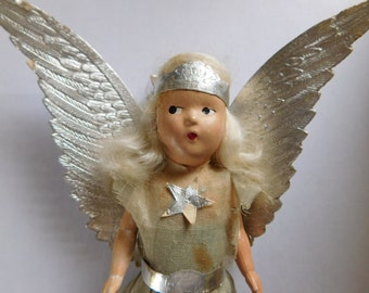 Noma Halo Angel Tree Topper 1940s SWEET