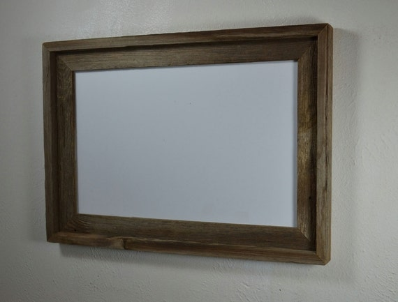11x17 Wood Poster Frame Complete Free Shipping By Barnwood4u