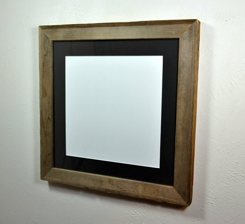 16x16 Earth Friendly Gallery Style Picture Frame With Black