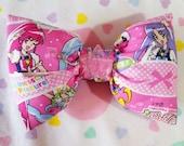 Pretty Cure hair bow, Heartcatch Precure magical girl mahou shoujo otaku gift fairy kei sweet lolita
