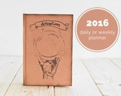 Divination Notebook or Daily Planner or Weekly Planner