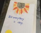 Original art card, not everything is okay