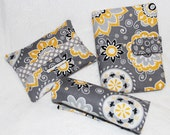 Travel Trio PDF Sewing Pattern. NEW. Passport Wallet with Secret Pockets. Luggage Handle Wrap with ID Pocket. Stay Closed Pocket Tissue Case