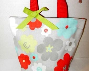 Floral GirlsTote/Gift Bag