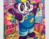 Vintage Lisa Frank Folder ~ Panda Painter