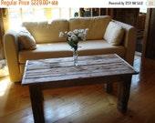 "Driftwood Furniture Driftwood Coffee Table (42"" x 22"" x 16-20"" H)"