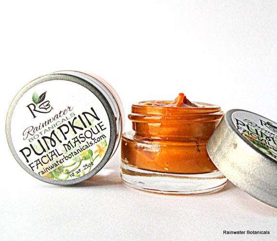 Pumpkin Facial Mask Antioxidants and Enzymes