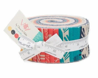SALE Jelly Roll Strips VALLEY Moda Fabric by Sherri & Chelsea