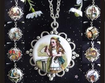 Alice in Wonderland Pendants - You Choose from 8 Designs