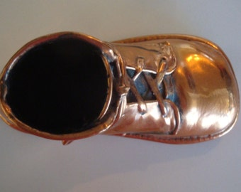 Copper Toddler Shoe//Post War 1946
