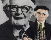 Jean Piaget Doll Art Miniature Child Psychology