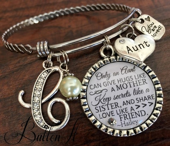 Aunt gift gifts for bracelet only an can