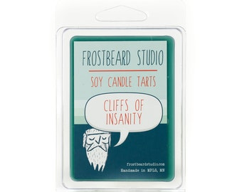 Cliffs of Insanity -- Book Lovers' Scented Tart  -- 3oz pack