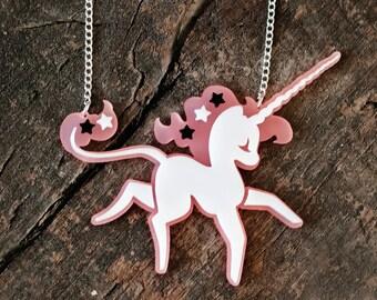 Fairy Tale Unicorn Necklace