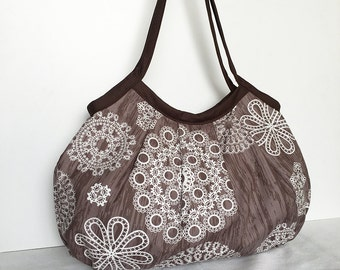 Granny Bag - Knots and Loops in Bark