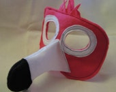 felt flamingo mask