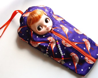 """The Original Blythe Sleepsack from PINKKIS: """"Unique"""" Handmade Protective Carrying Pouch"""