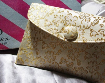 Vintage Fifth Avenue Makeup Bag and Compact