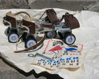 For SALE/ Vintage ROLLER BLADES soviet style