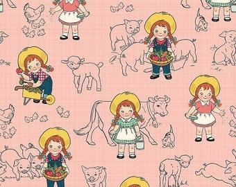 25% OFF Farm Girl Main Pink - 1/2 Yard