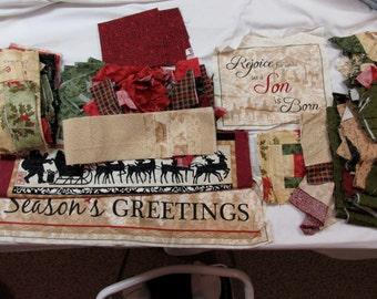 Remnants - Christmas fabrics