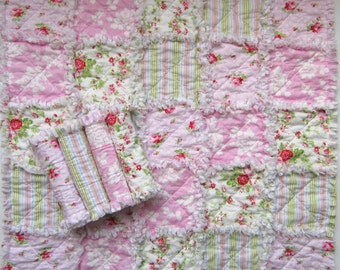 Burp Cloth Pattern, Baby Rag Quilt Pattern, Easy Quilt, Beginner PDF Pattern