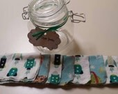 DIY Dryer Sheets Jar Outer Space