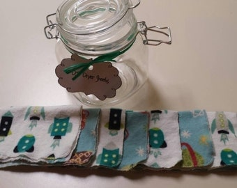 DIY Dryer Sheets Jar Outer Space