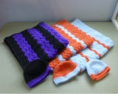 Custom Order For Robbin Special Price Baby Afghans with Hats