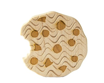 Cookie Wood Toy Teether