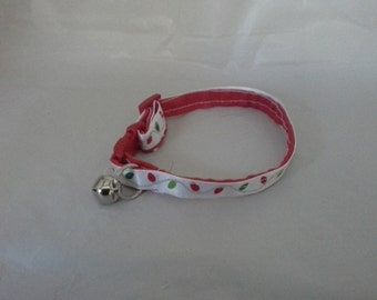Christmas Lights Cat Collar