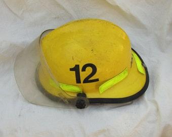 Used Firemans Helmet