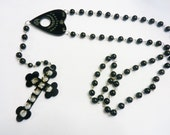 Ouija Rosary Cross Necklace Torture Couture More Colors witchy wiccan coven american horror gothic goth bats lolita egl kawaii harajuku