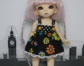 Colorful Flowers Dress for Pukipuki