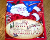 The Night Before Christmas cloth book
