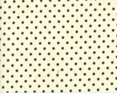 Preorder - Chestnut Street (20276 25) Milk Chalkboard Polka Dot by Fig Tree & Co.
