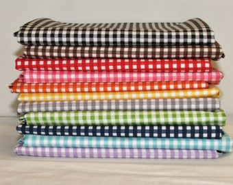 Riley Blake Small Gingham bundle (FQ-440) - 11 Fat Quarters
