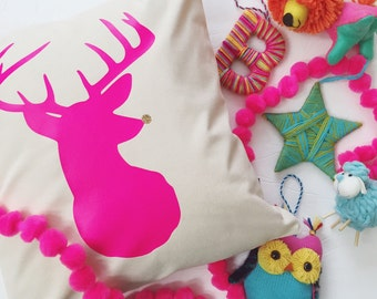 Rudolph - Pillow Cover