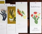 2016 12-Month Calendar SALE