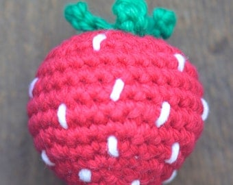 Strawberry Cat Toy