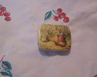 tiny hunkydory forest critters tin