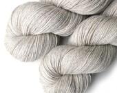 Alpaca Silk and Cashmere Luxury Yarn, 435 yards - Natural