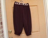 Dark Brown Knickers--Newsies, pirates, renaissance costume, school plays, dance performances