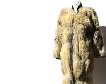 Vintage Women's Reversible Fox Fur Coat