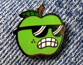 Hard Enamel Lapel Pin Apple
